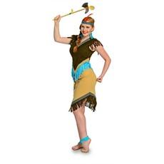 Indianenjurk vrouw 2-delig
