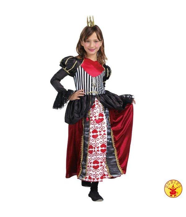 Harten Koningin kostuum kind