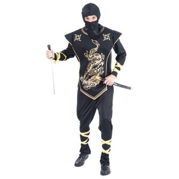 Ninja outfit volwassen