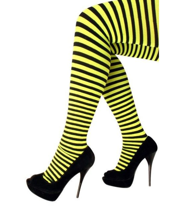 Panty streep geel/zwart