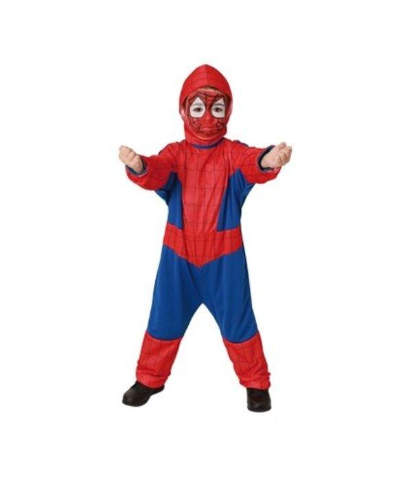 Kleine Spiderman held pakje
