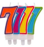 Kaars frisse kleuren 7