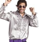 Party blouse zilver