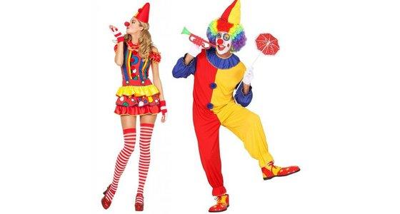 Clownspakken - Circus verkleedkleren