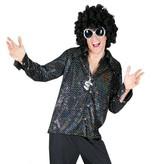 Disco 80's blouse man elite