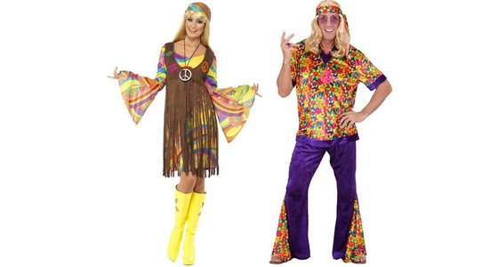 Hippie & Flower power kleding