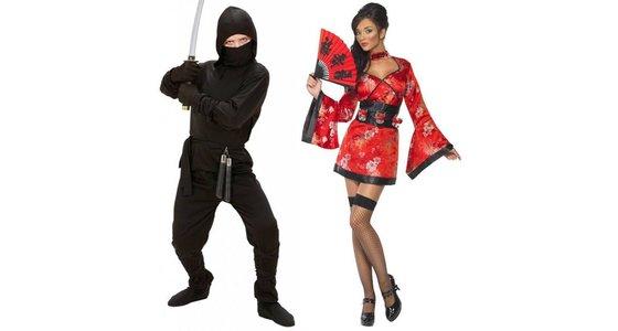 Chinese verkleedkleding - Ninja pak