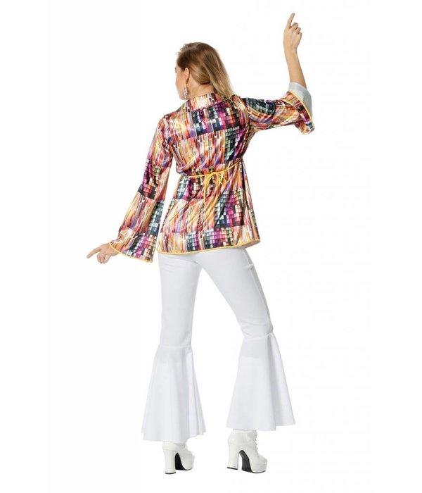 Disco shirt vrouw