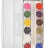 Superstar schmink palet aqua basic 12 kleuren (12x5gr)
