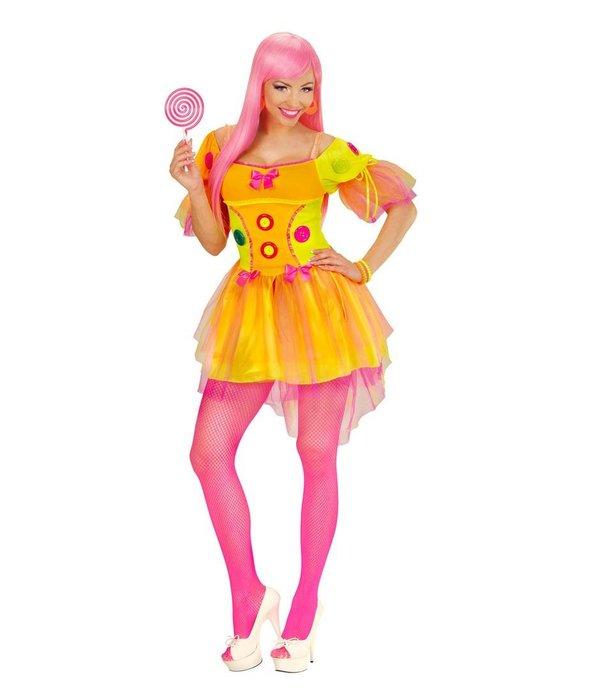 Neon Fantasy dame jurk