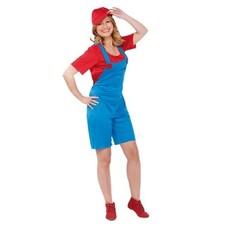 Super mario vrouw kostuum