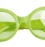 Bril disco neon groen