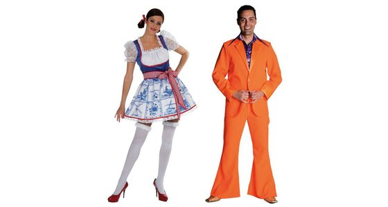 Oranje - Holland kleding