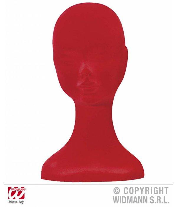 Paskop fluweel rood