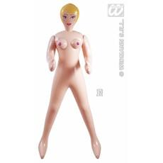 Opblaaspop vrouw 150cm