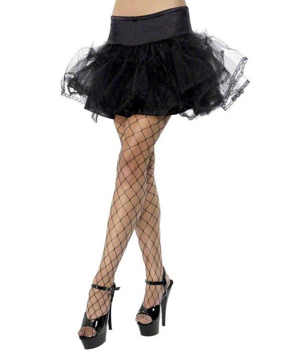 Tule petticoat zwart