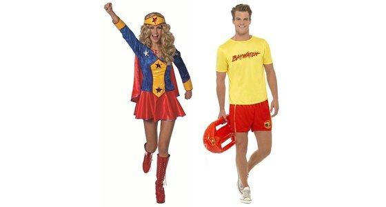 Superhelden film kostuums