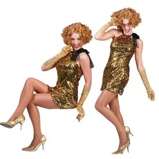 Diva dress Toppers goud