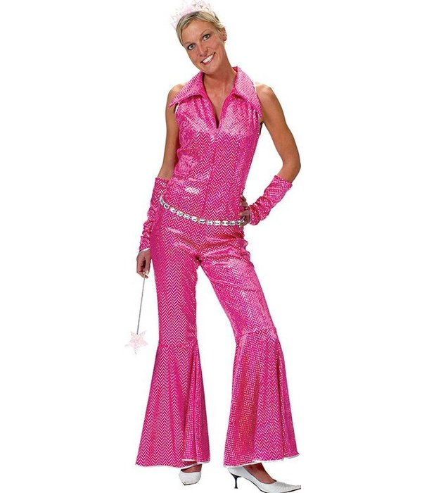 Boogie Night Toppers jumpsuit pink