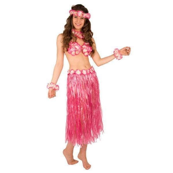 Hawaii Set roze 5-delig