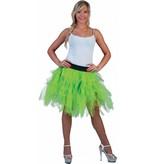 Petticoat groen fluor