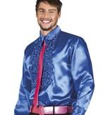 Party blouse Koningsblauw
