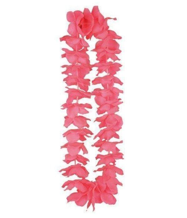 Hawaii krans neon roze