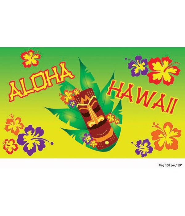 Aloha Hawaii vlag 150cm