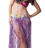 Hawaii rok lang paars 80cm