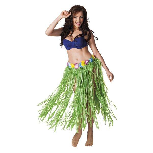 Hawaii rok lang groen 80cm