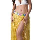 Hawaii rok lang geel 80cm