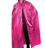 Cape met capuchon roze