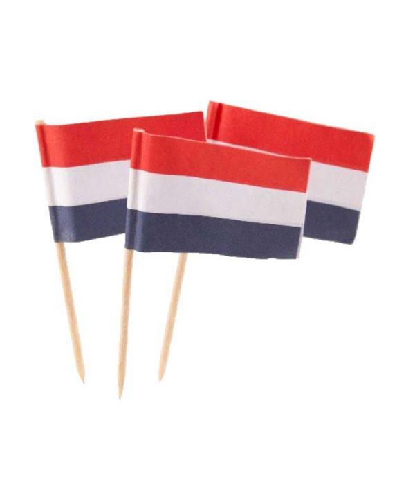 Prikker Nederlandse vlag - 50 stuks