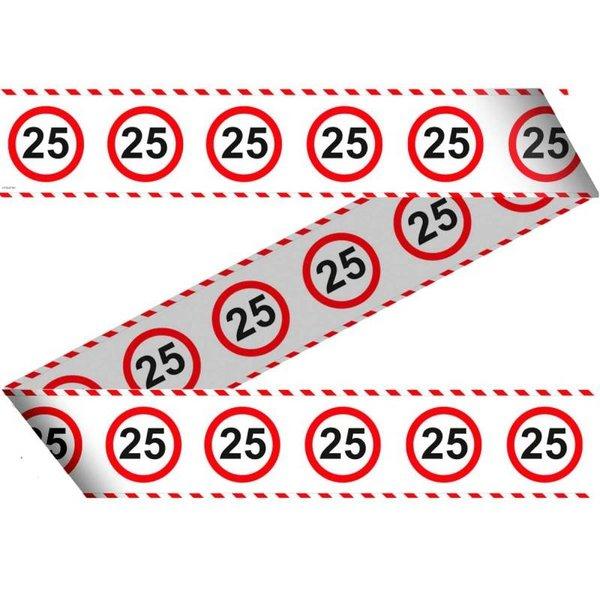 Afzetlint Verkeersbord 25