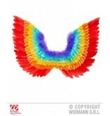 Veren vleugels regenboog
