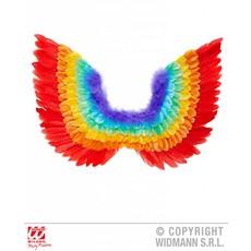 Veren vleugels regenboog 60cm