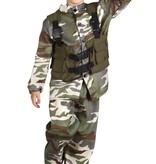 Soldaat kostuum kind