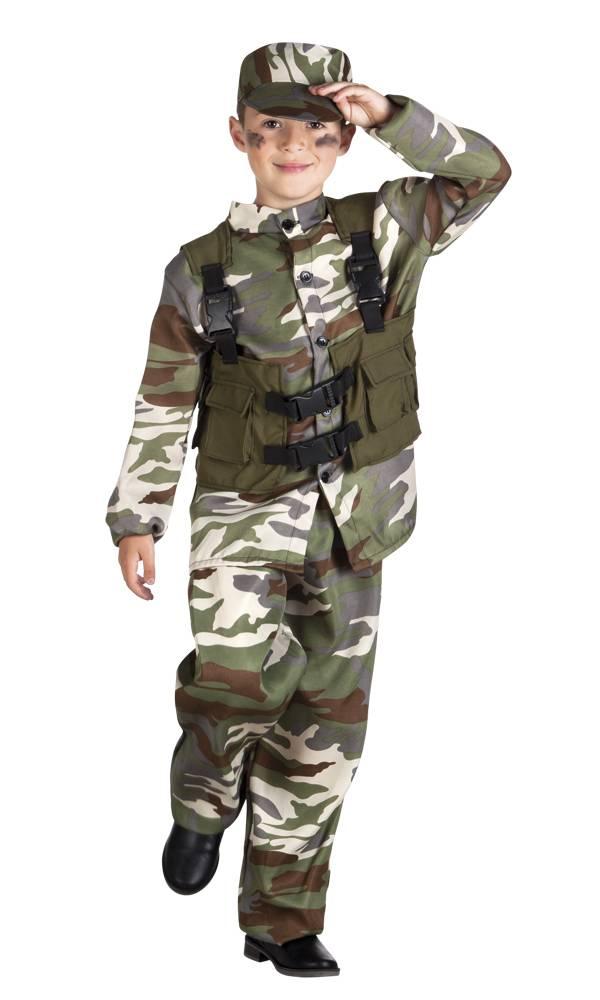 soldaat kostuum feestbazaar nl