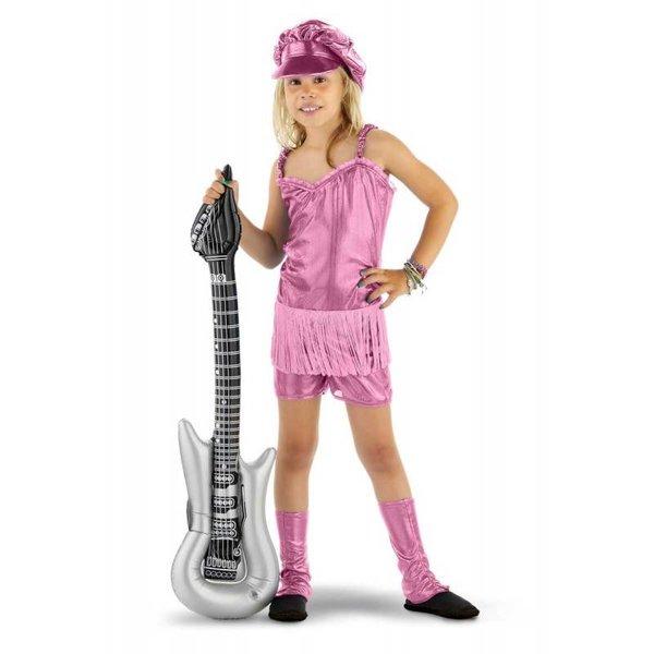 Rocker Popstar Girl 3-delig Pakje roze