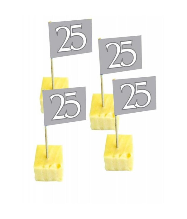 Vlag Prikkers 25 Jarig Jubileum - 50 stuks
