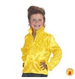 Disco Rock shirt kind geel