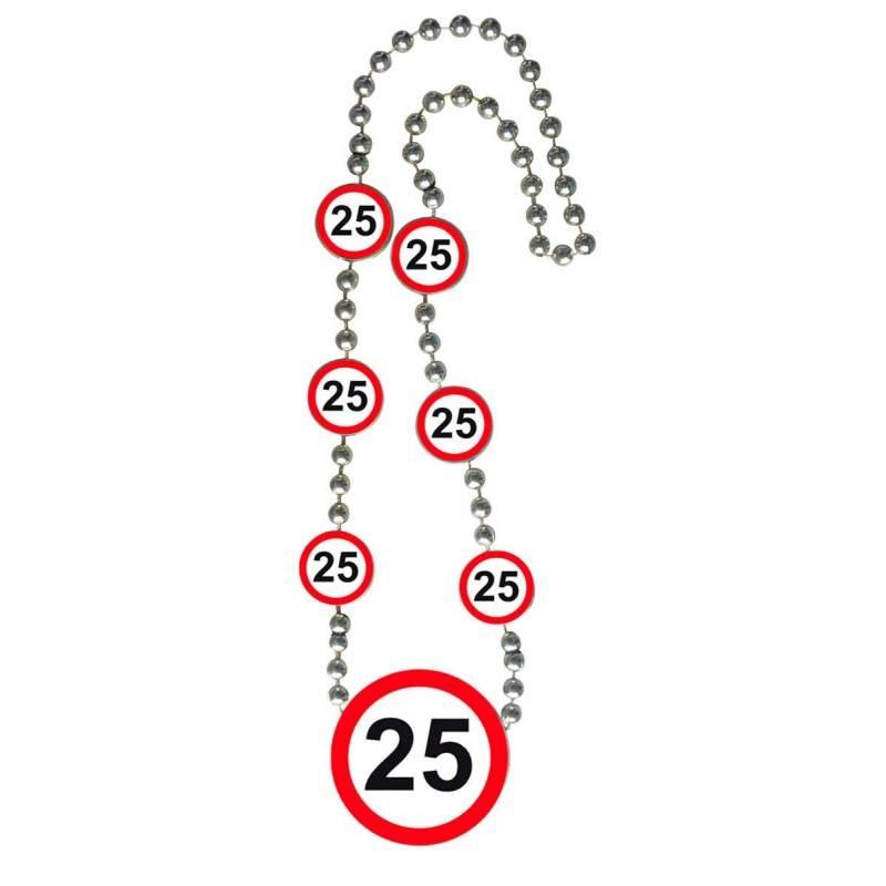 25 Jaar Verkeersbord Ketting
