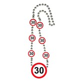 30 Jaar Verkeersbord Ketting