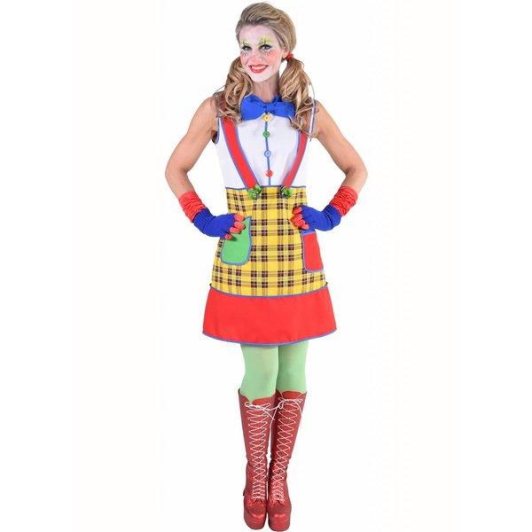 Clownsdame kostuum Coco