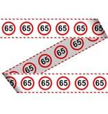 Afezetlint Verkeersbord 65
