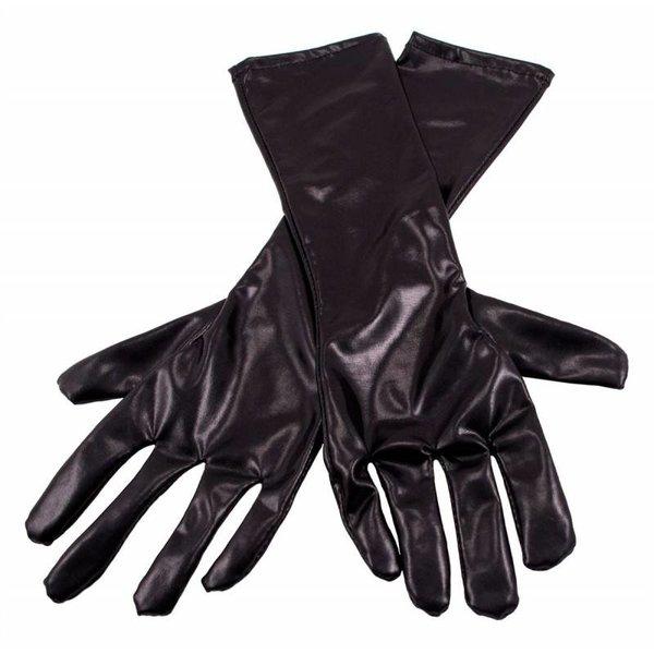 Handschoenen metallic zwart