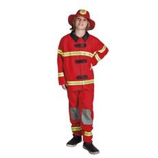Kostuum brandweer man kind