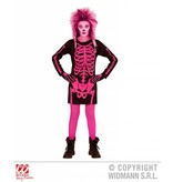Skeletjurkje roze kind