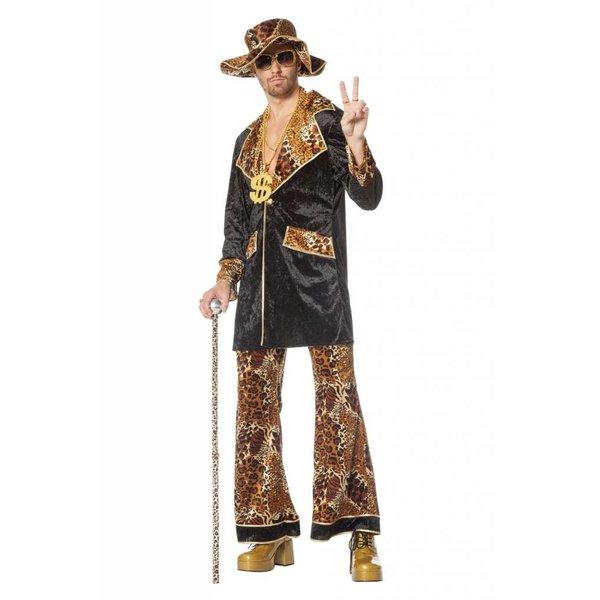 Pimp Pooier kostuum elite