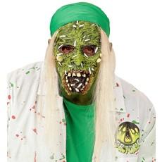 Masker giftige zombie met haar